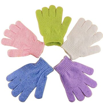 Convenient Multicolor Bath Bathe Gloves